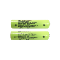 x2 AAA Rechargeable Batteries (750mAh)